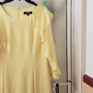 NWT Glamour Yellow Long Dress; Szs 14 & 16; $75